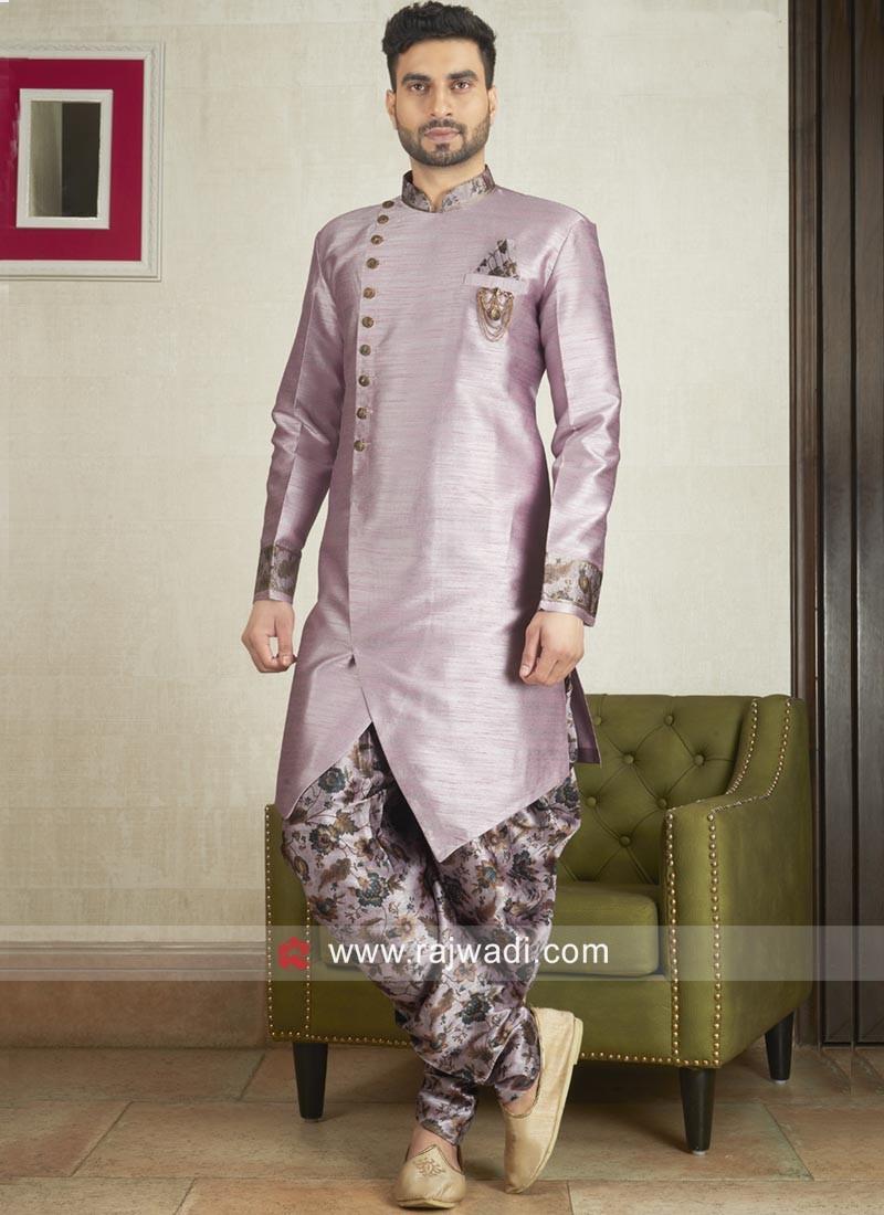 Attractive Medium Orchid Patiala Suit