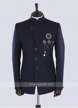 Blue Jodhpuri Suit