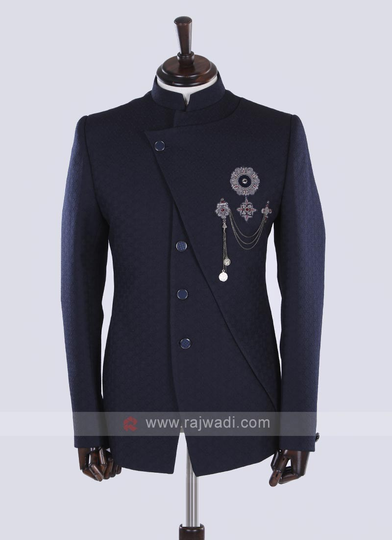 Blue Jodhpuri Suit