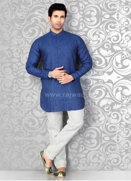 Blue Kurta Pajama