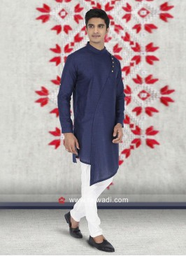 Blue Kurta Set For Wedding