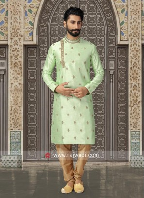 Round Neck Kurta Set