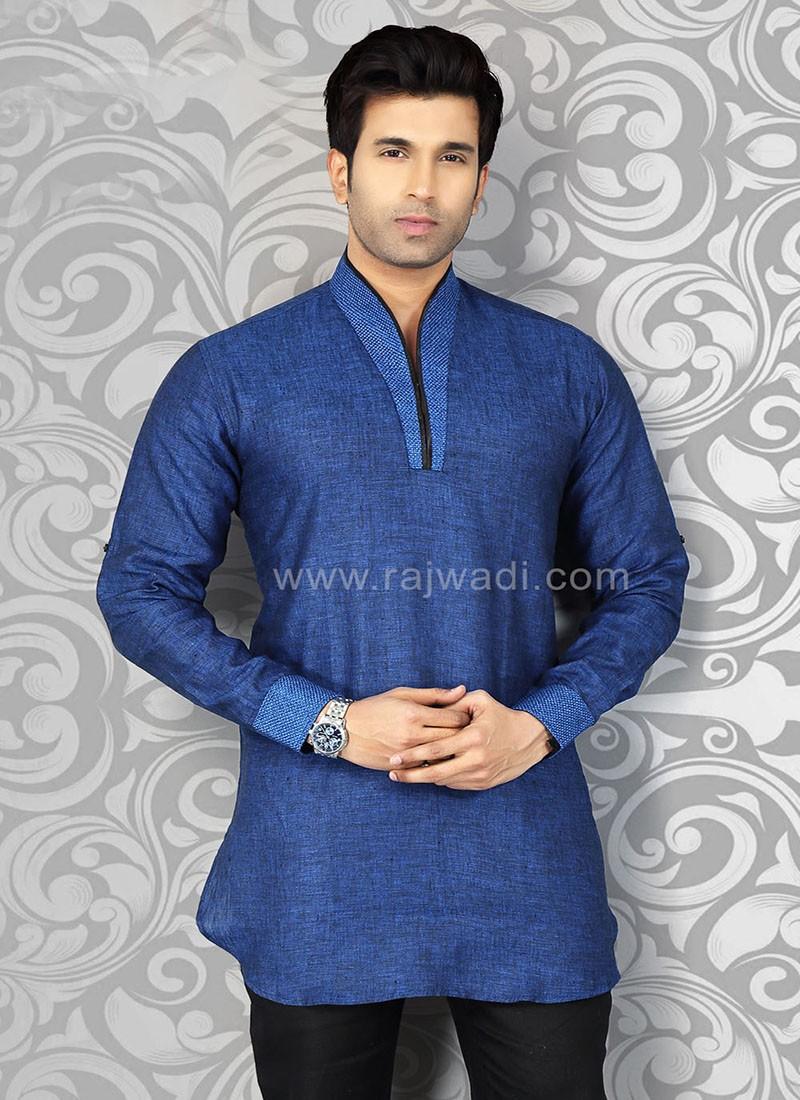 Blue Party Wear Kurta