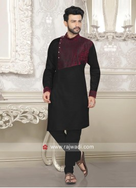 Black Pathani Suit