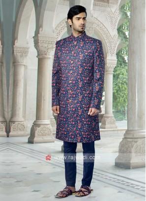 Blue Printed Indowestren