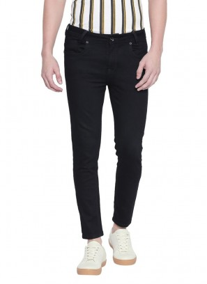 Blue Raw Ankle Length Fashion Jeans