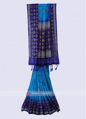 Beautiful Bandhani Saree