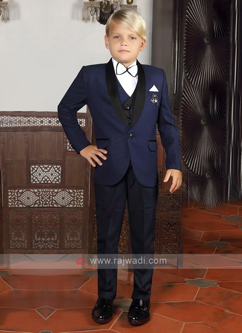 Blue Suit For Boys