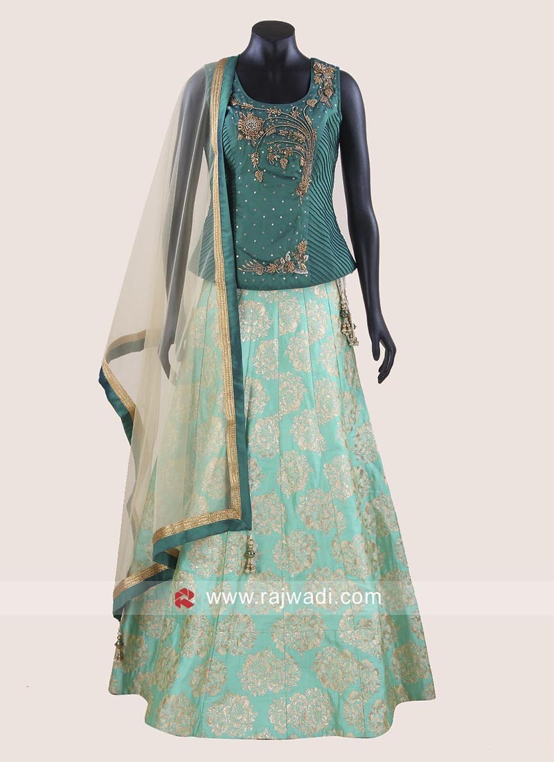 Brasso Silk Lehenga Choli with Dupatta