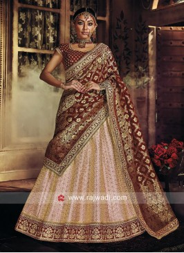 Bridal Embroidered Lehenga Choli