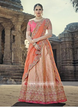 Bridal Embroidered Lehenga Set