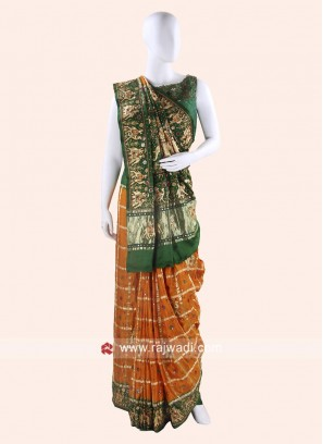 Bridal Gajji Silk Panetar