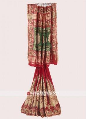 Bridal Gajji Silk Panetar Saree