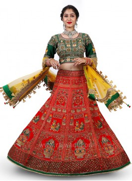 Bridal Heavy Embroidered Choli Suit