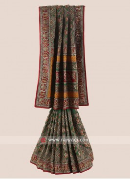 Bridal Heavy Wedding Gharchola Saree