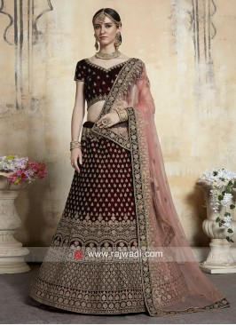 Bridal Heavy Wedding Lehenga Set