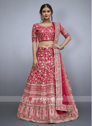 Bridal Lehenga Choli With Heavy Embroidery