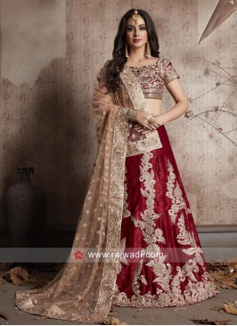 Bridal Lehnega Choli with Dupatta