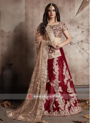 Bridal Lehnega Choli with Dupatta