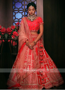 Bridal Pure Silk Lehenga Choli