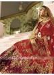 Designer Shaded Satin Lehenga