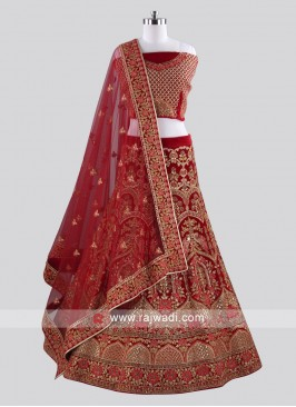 Bridal wear Lehenga Choli