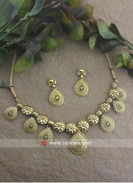 Bridal Wedding Copper Necklace Set