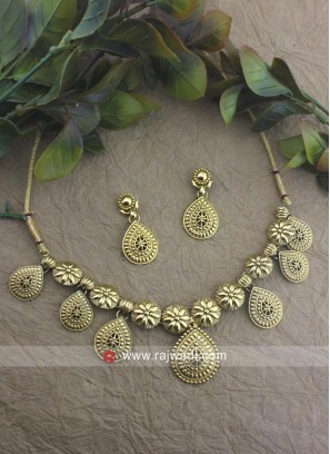 Bridal Wedding Copper Necklace Set