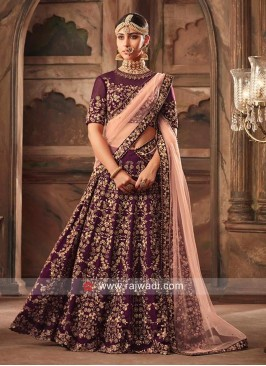 Bridal Wedding Heavy Lehenga Set