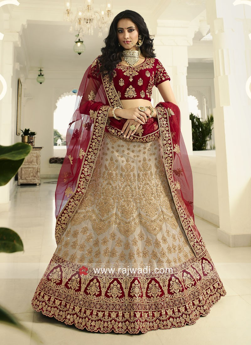 Bridal Wedding Lehenga Choli with Dupatta