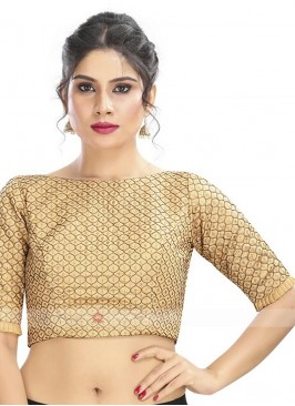 Brocade Embroidery Ready Blouse
