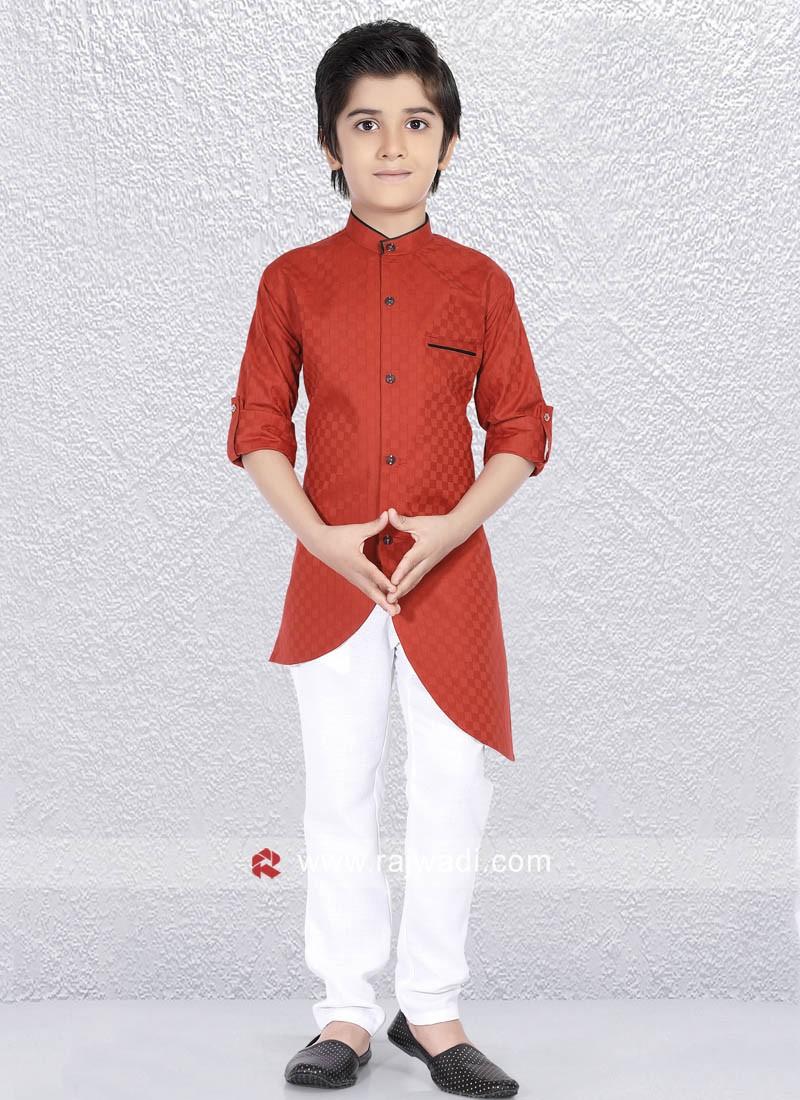Cotton Silk Fabric Kurta Pajama