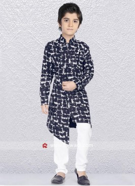 Attractive Navy Color Kurta Pajama