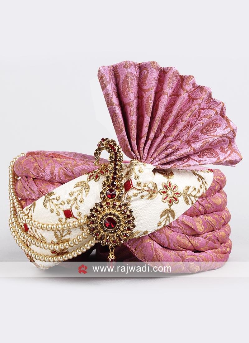 Brocade Silk Designer Safa