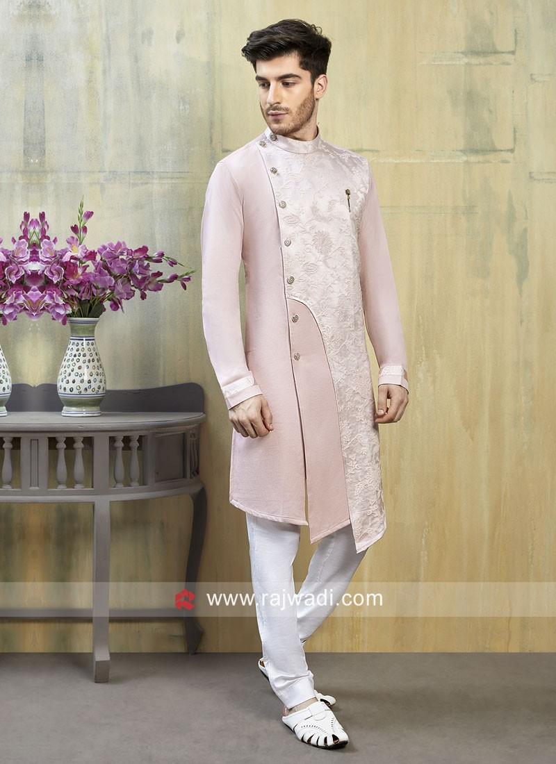 Cotton Silk Indo Western For Wedding