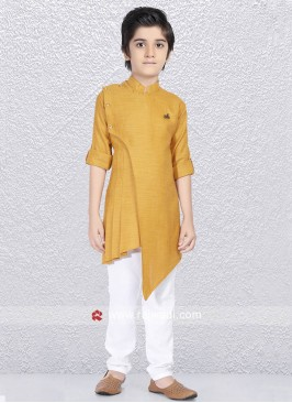Charming Mustard Yellow Kurta Set