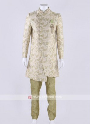 Brocade silk indo-western
