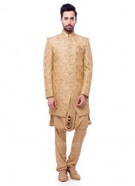 Brocade Silk Indo Western