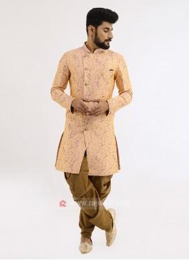Brocade Silk Indo Western For Men