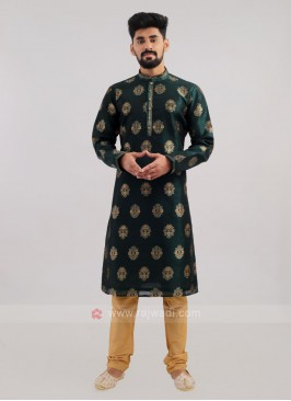 Brocade Silk Kurta Pajama For Wedding