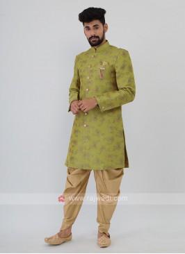 Brocade Silk Mens Indo-Western.