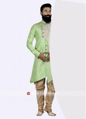 Art Silk Indo Western For Wedding
