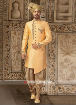 Attractive Zardozi Work Indo Western