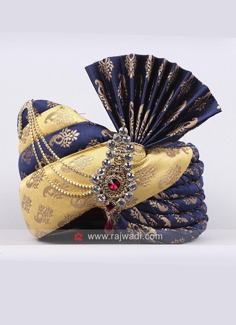 Brocade Wedding Turban