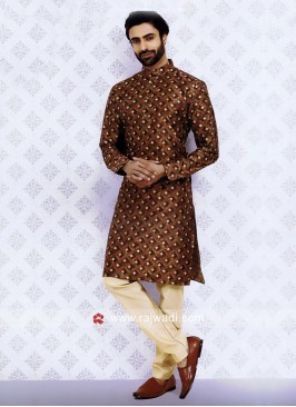 Brown Kurta Pajama