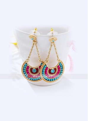 Candy Beads Drops Earrings