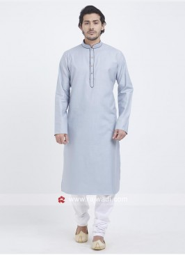 Carolina Blue Color Kurta Set