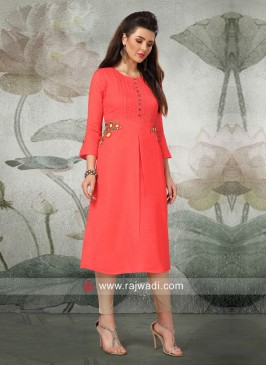 Casual Cotton Rayon Kurti