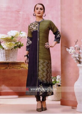 Casual Cotton Silk Kurti