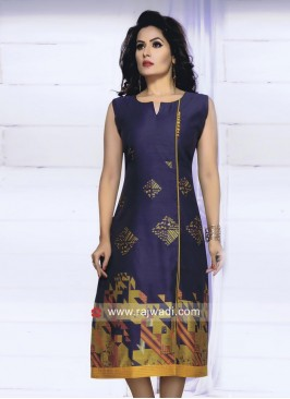 Casual Cotton Slit Cut Kurti